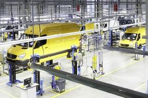 Производство автомобилей Mercedes-Benz и Volkswagen - Skoda, Группа ГАЗ, г.Н.Новгород